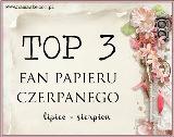 TOP 3 Namaste  Poszukiwany fan papieru czerpanego: lipiec – sierpień