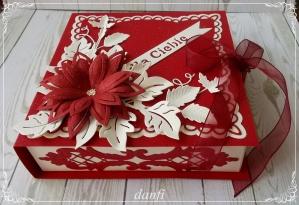 bordowe pudełko na świeczki (1)